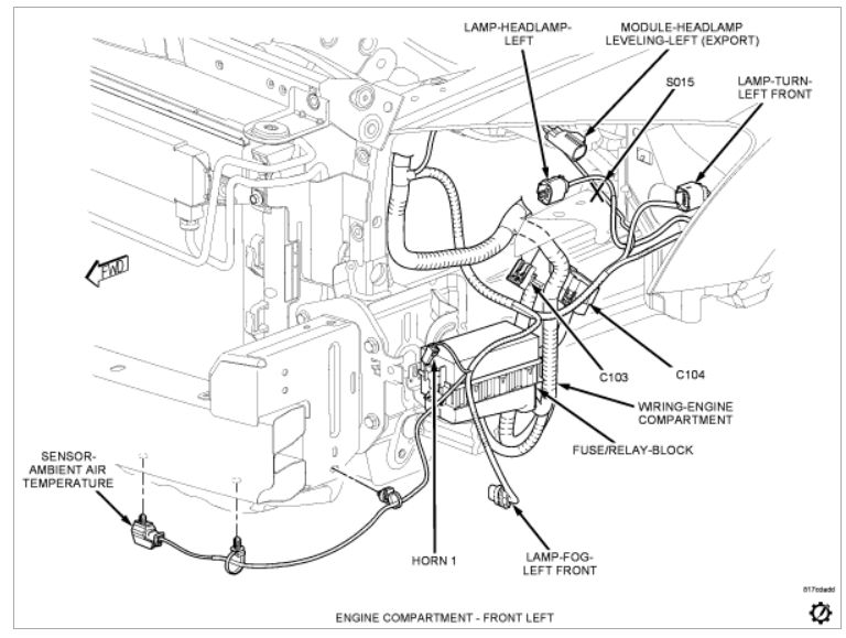 2007 dodge caliber sxt engine diagram  dodge  wiring