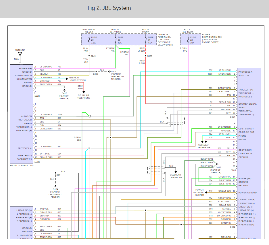 toyota tundra jbl wiring diagram wiring diagrams: i am trying to find the wiring diagram ... ford jbl wiring diagram