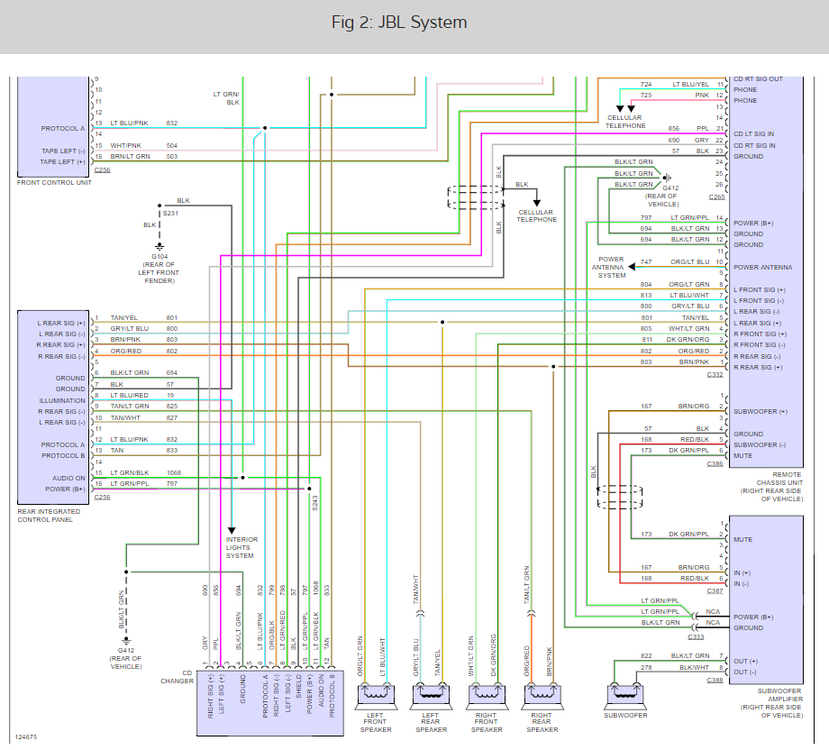 wiring diagrams: i am trying to find the wiring diagram ... ford jbl wiring diagram