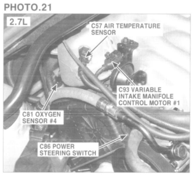Oxygen Sensor Location  Where Is The Bank 2 Sensor 1 Located  Obd