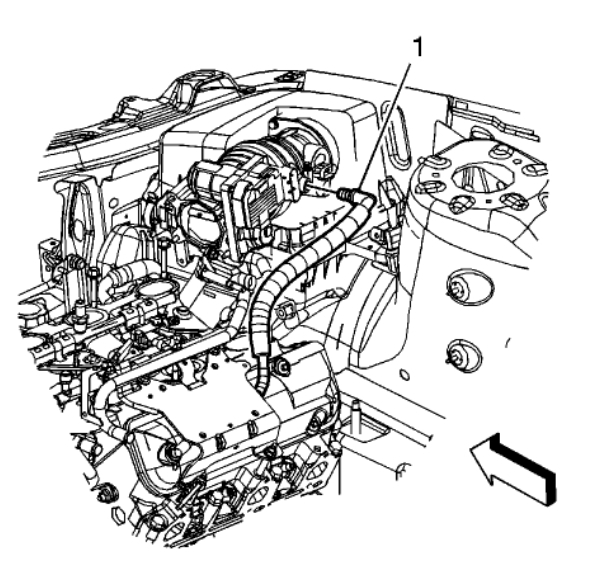 Pcv Valve  Engine Problem 6 Cyl All Wheel Drive Automatic