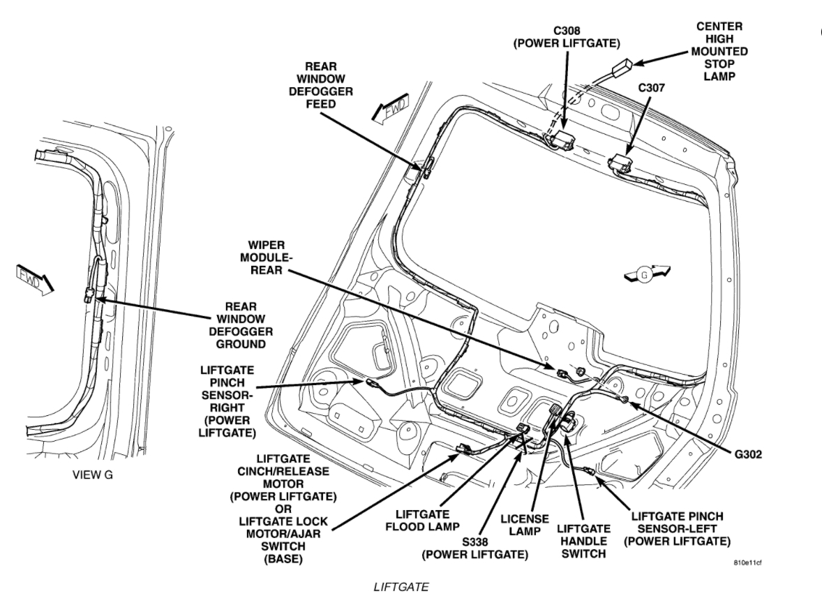06 chrysler pacifica fuse panel diagram