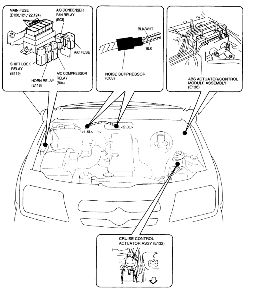 Suzuki Verona Fuse Box Great Design Of Wiring Diagram Diagrams 2001 Esteem 2004 Subaru Outback