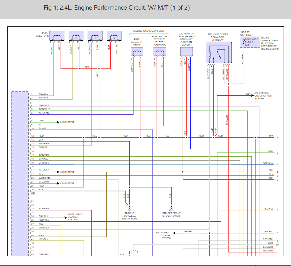 Download  Wiring Diagram 2001 Mitsubishi Mirage Full