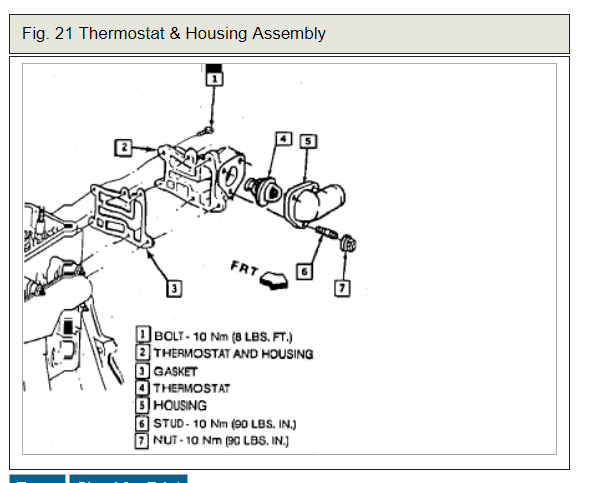 98 buick century thermostat