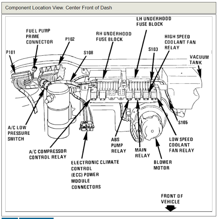 1995 deville blower motor wiring diagram