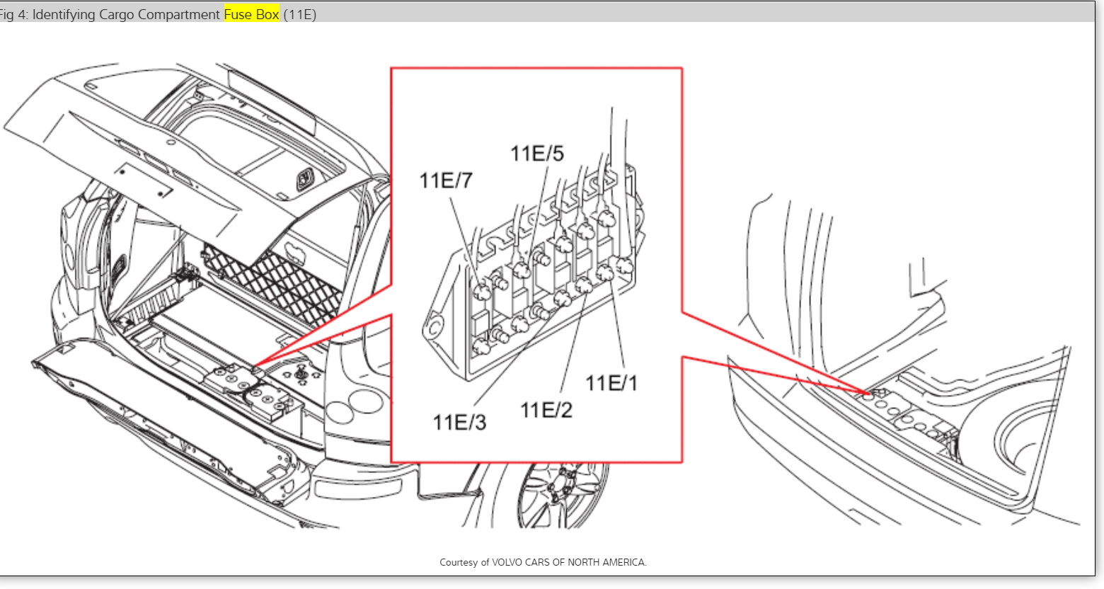 2007 Volvo Xc70 Fuse Box Diagram Images Gallery