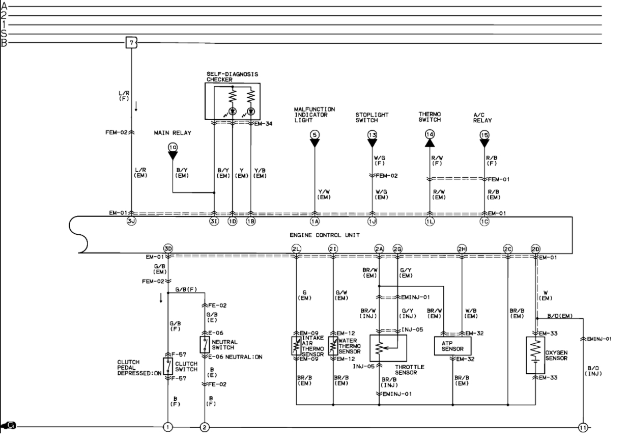 Mazda Bravo B2600 Wiring Diagram - Wiring Diagram and ...