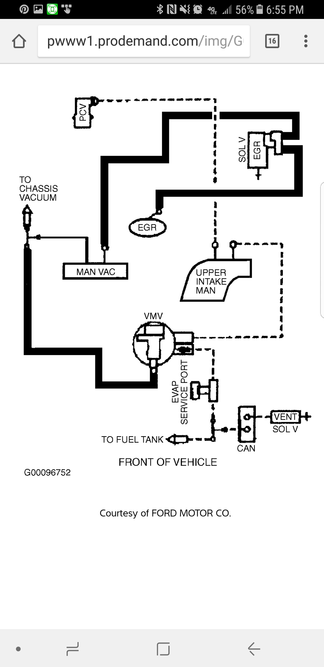 Vacuum Hose Diagram  I Need To Know What Kind Of Hoses Are