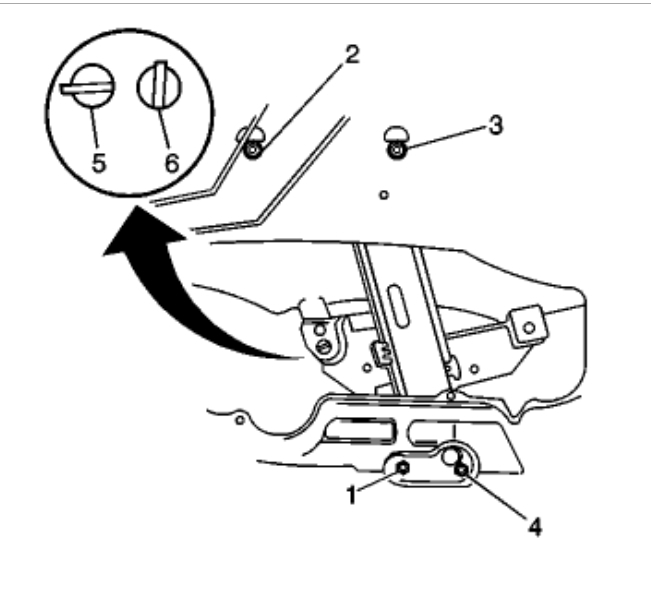 how to replace rear door window how do i replace the rear power 06 Impala SS thumb