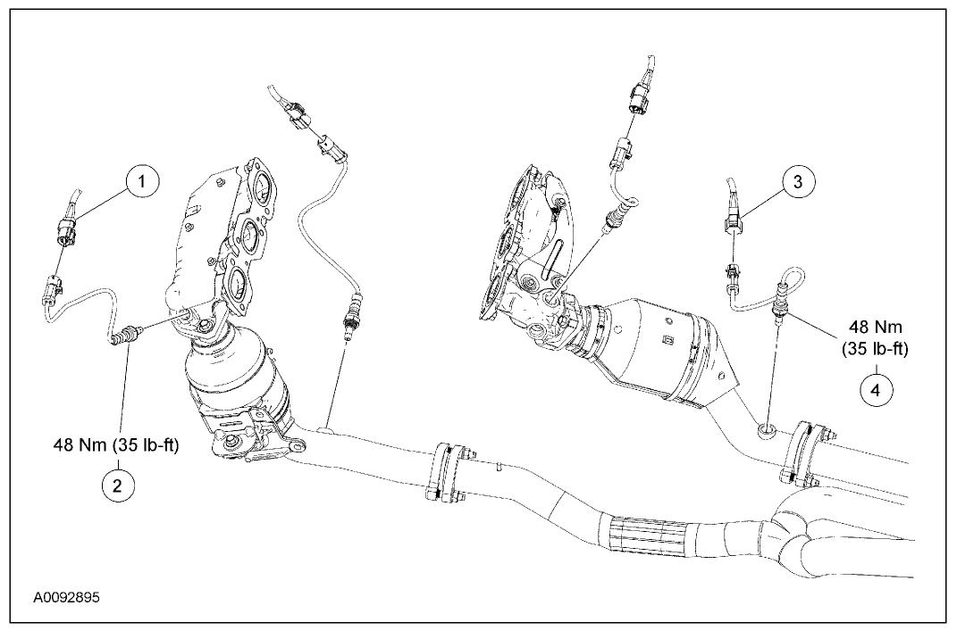 Ford Ranger Oxygen Sensor Bank 1