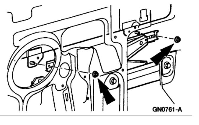 Driver Window Off Track    Interior Problem V8 Four Wheel