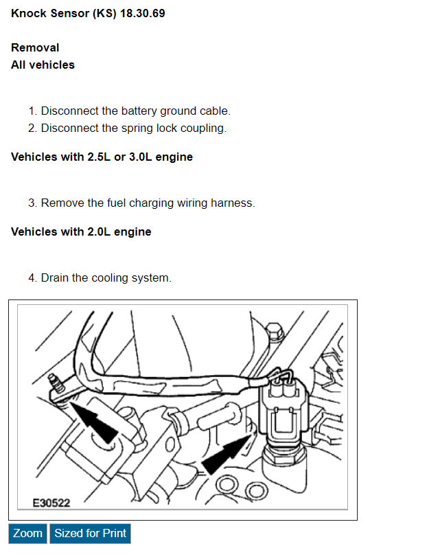 Knock Sensor  Where Is The Knock Sensor Located On A 2002 Jaguar X