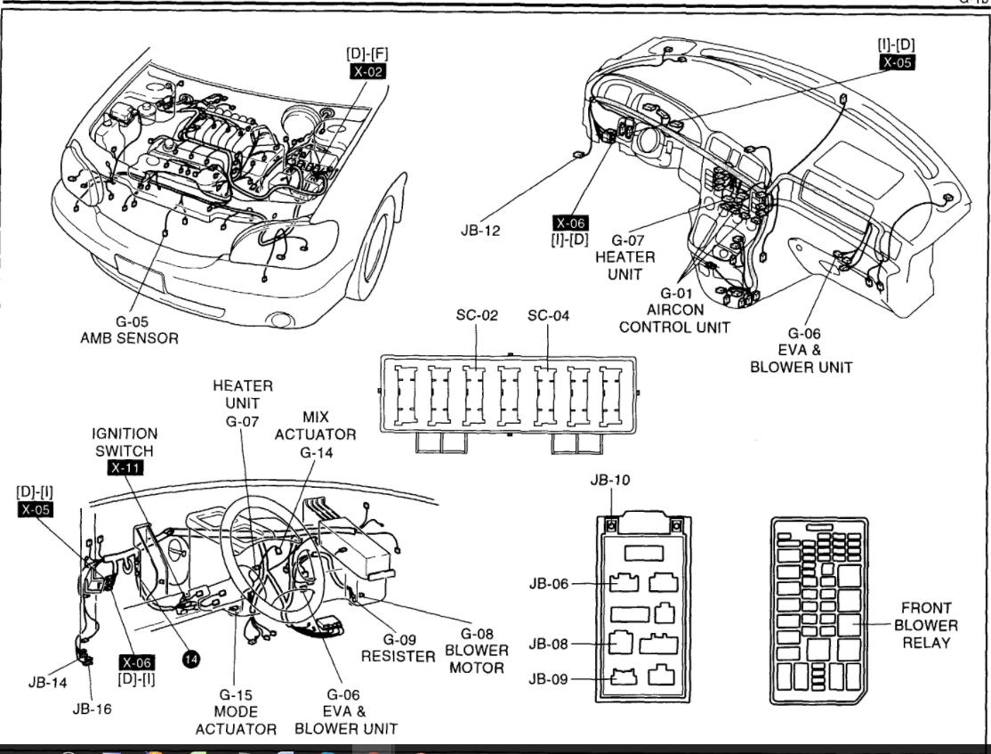 97 quest front blower wiring diagram