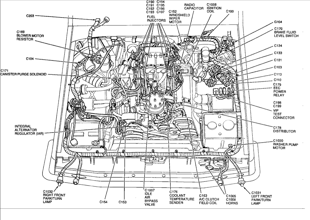 1986 F150 Fuel Injection Schematic Wiring Diagrams Image