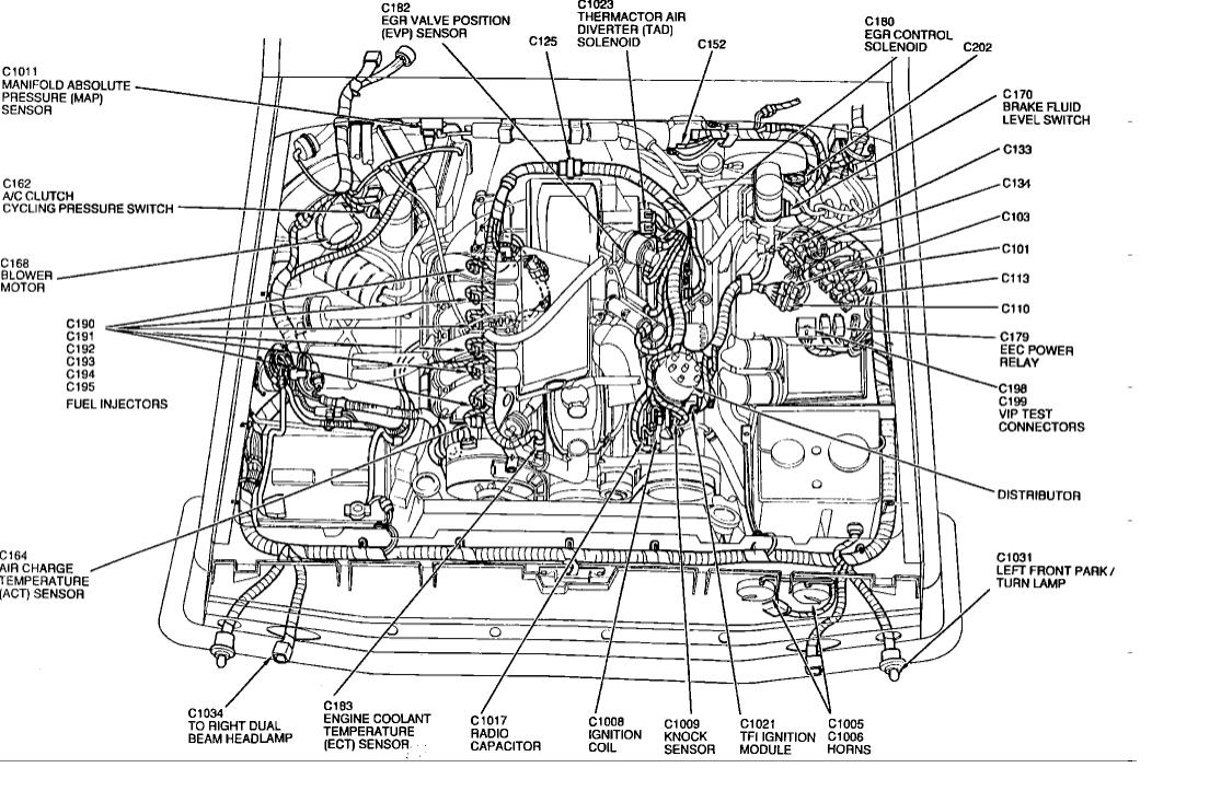 ford four wheel wiring diagrams