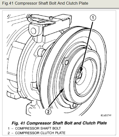 Replace Ac Compressor Clutch Air Conditioning Problem 4 Cyl Two