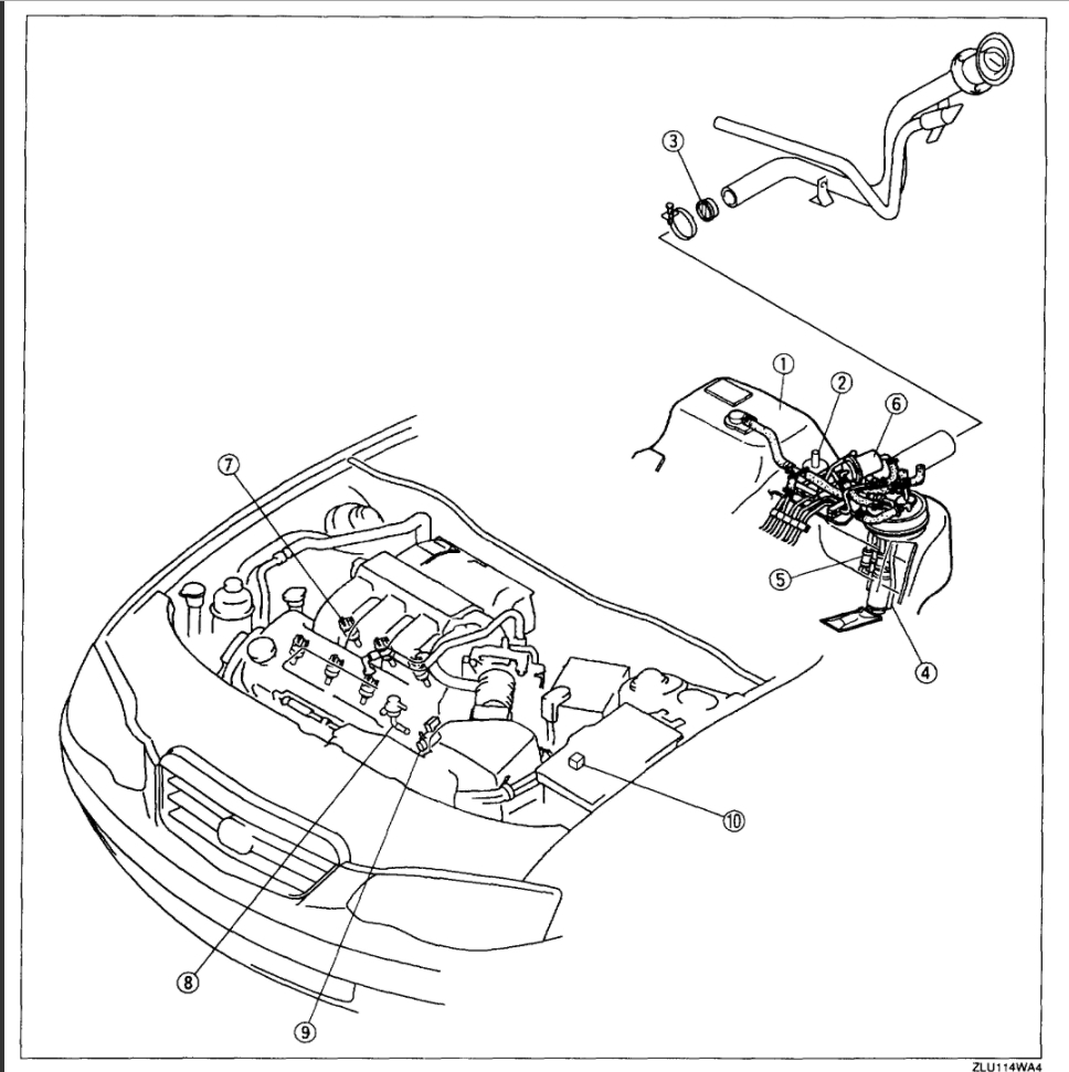 1999 mazda 626 fuel line diagrams mazda 626 fuel filter location wiring diagram  mazda 626 fuel filter location wiring