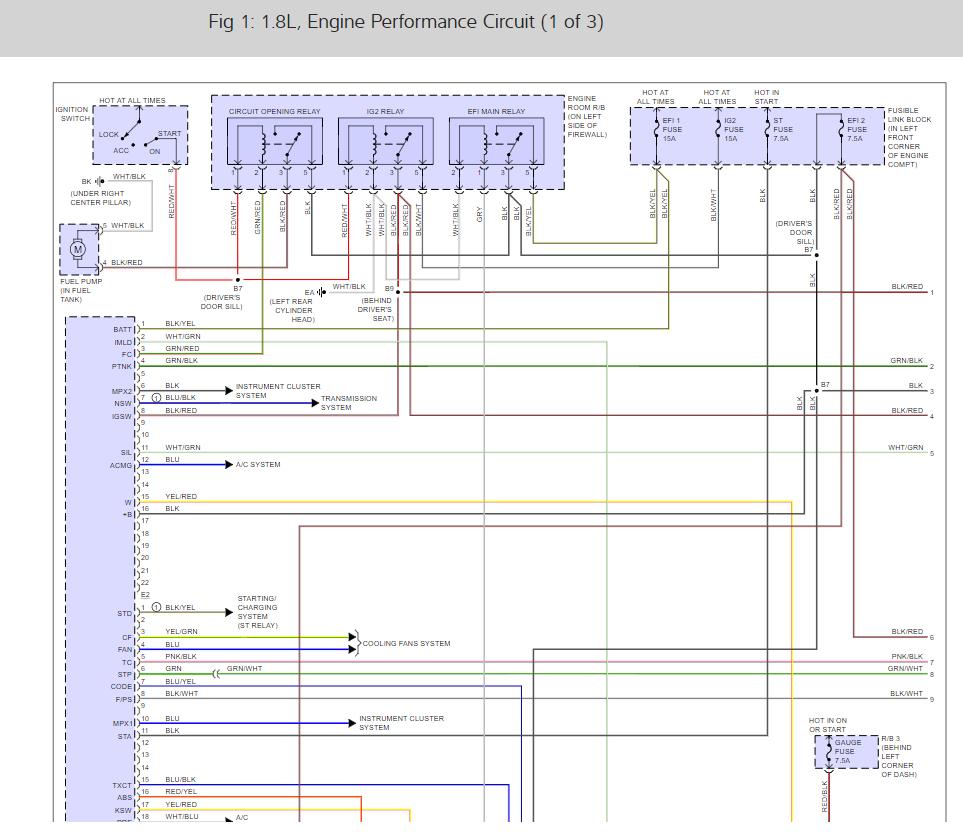 Engine Management Wiring Diagramor Ecu Pinout Toyota Granvia Diagram Thumb