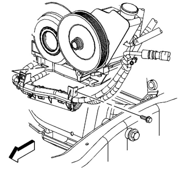 oil pan removal instructions for remove bolts oil pan chevrolet 1996 Chevy 1500 Van thumb