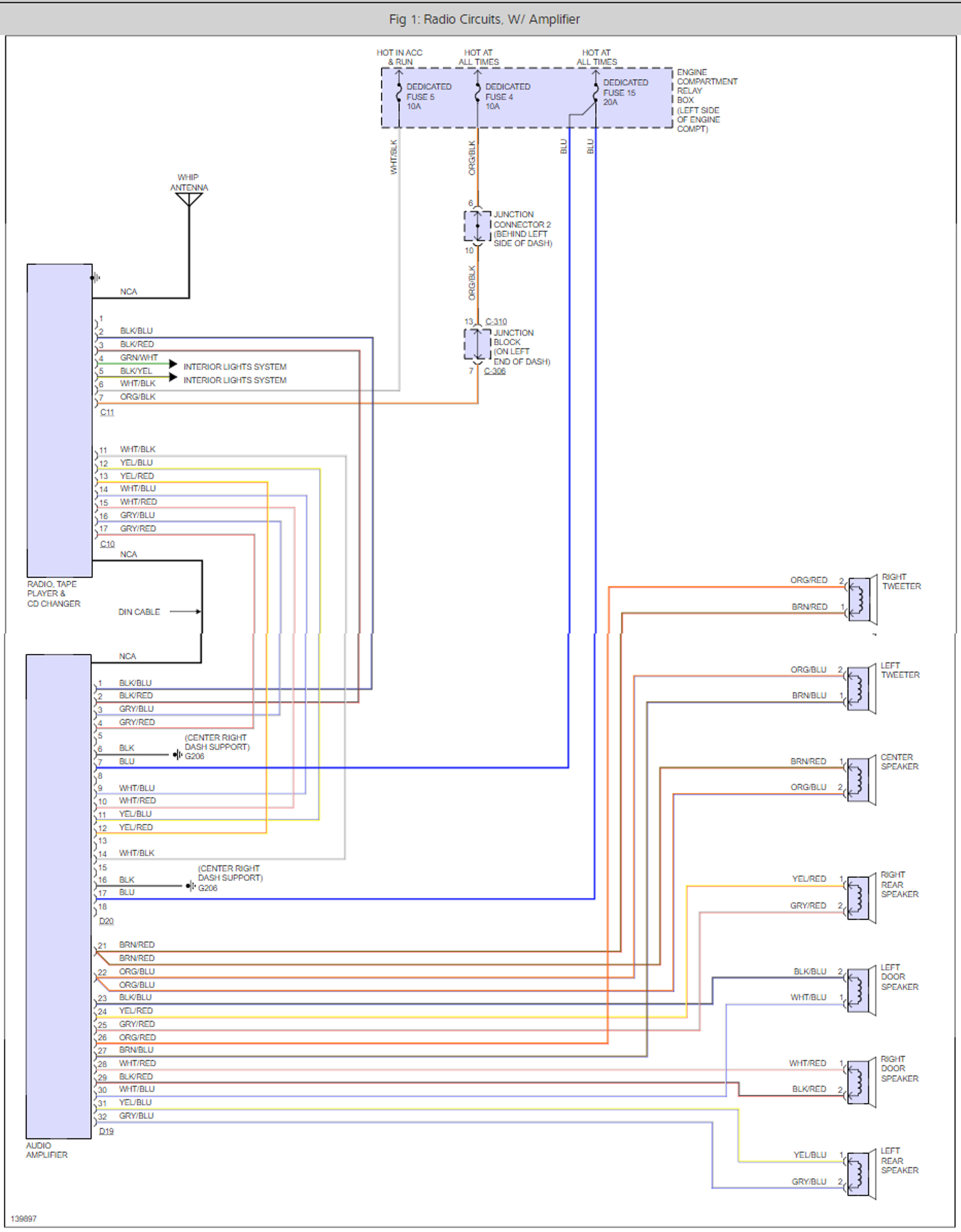 Factory Stereo Wiring Harness Color Code I Have The Lxi Coupe Surround Speaker Diagram Thumb