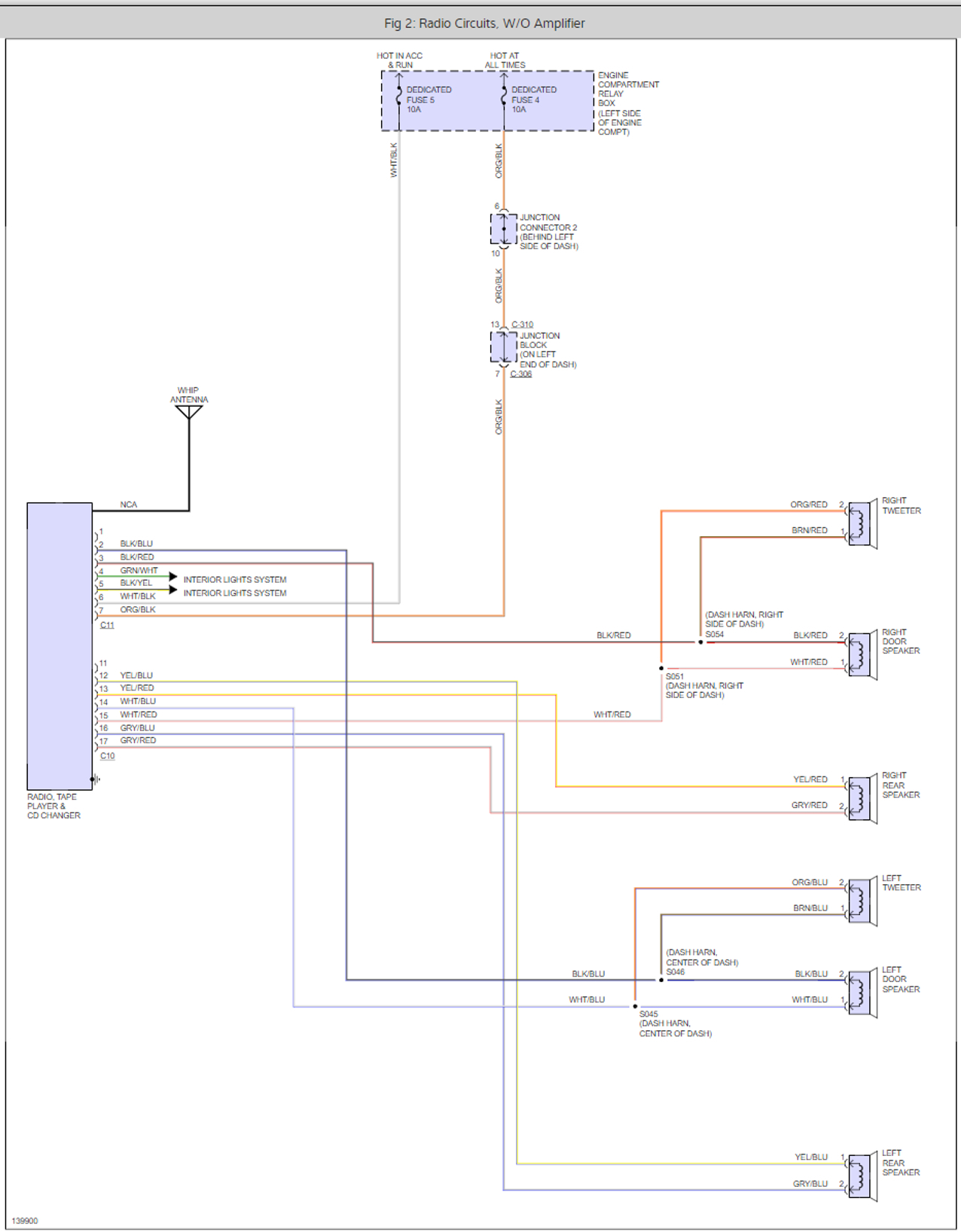 [DIAGRAM_5FD]  Supercars Gallery: Chrysler Radio Wiring Diagrams | 2000 Chrysler Concorde Car Stereo Wiring Diagram |  | Supercars Gallery - blogger