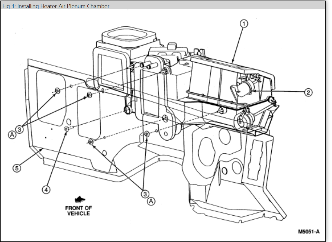 2002 ford explorer heater hose diagram