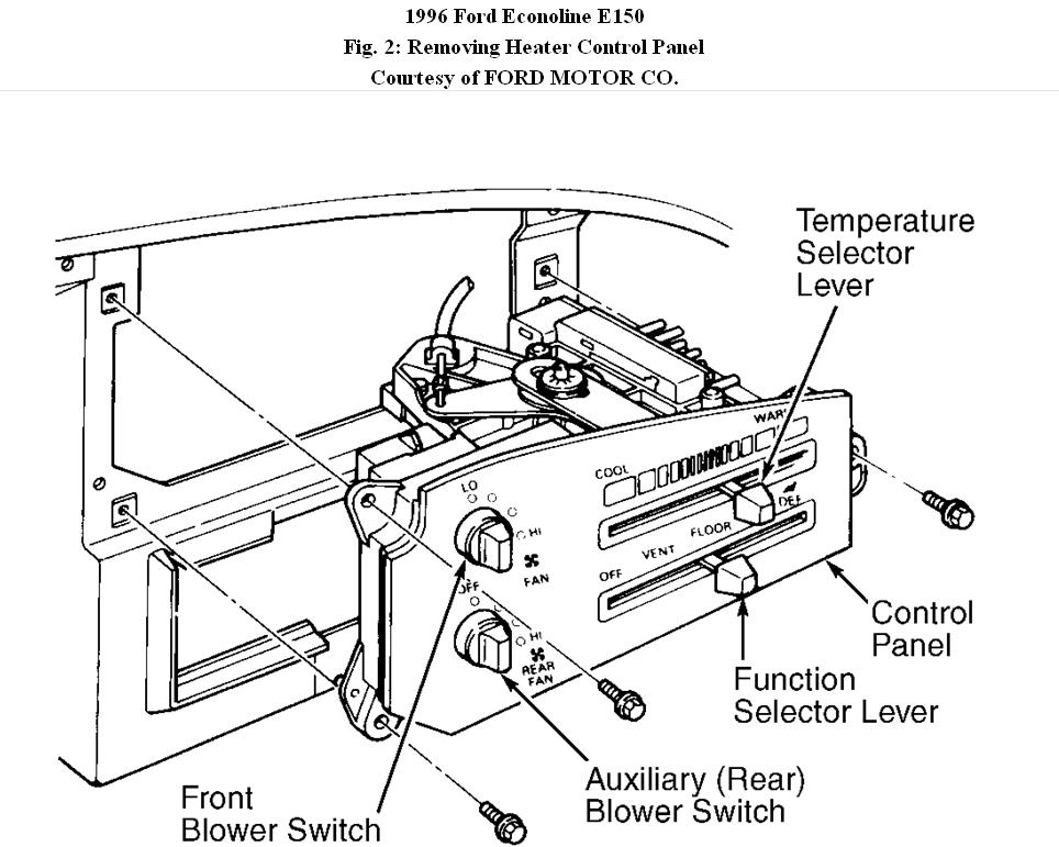 1996 Ford 3 8 Motor Diagram