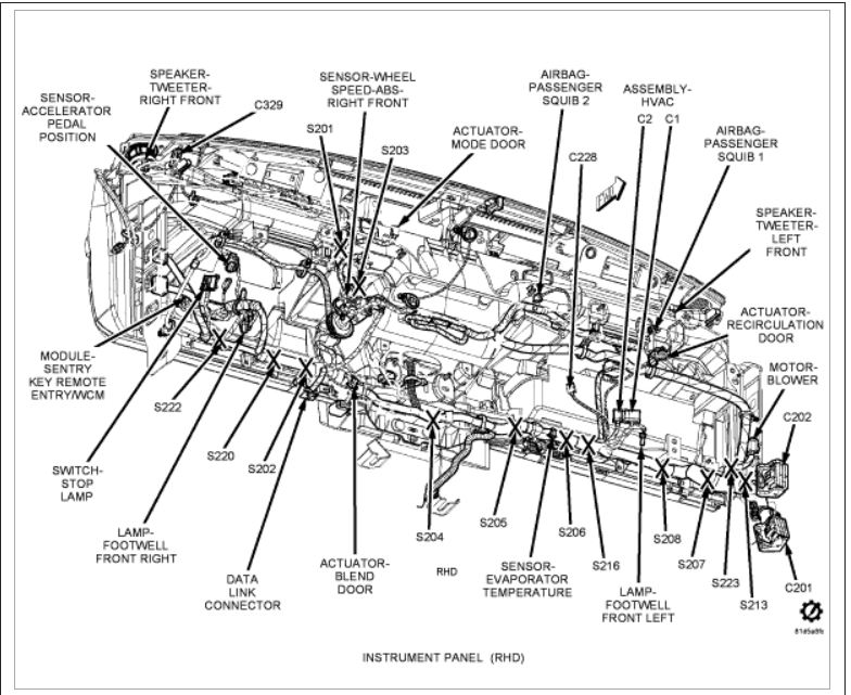 2008 jeep patriot fuse diagram 2008 jeep patriot heater diagrams heater core replacement: hello, i am working on the ...