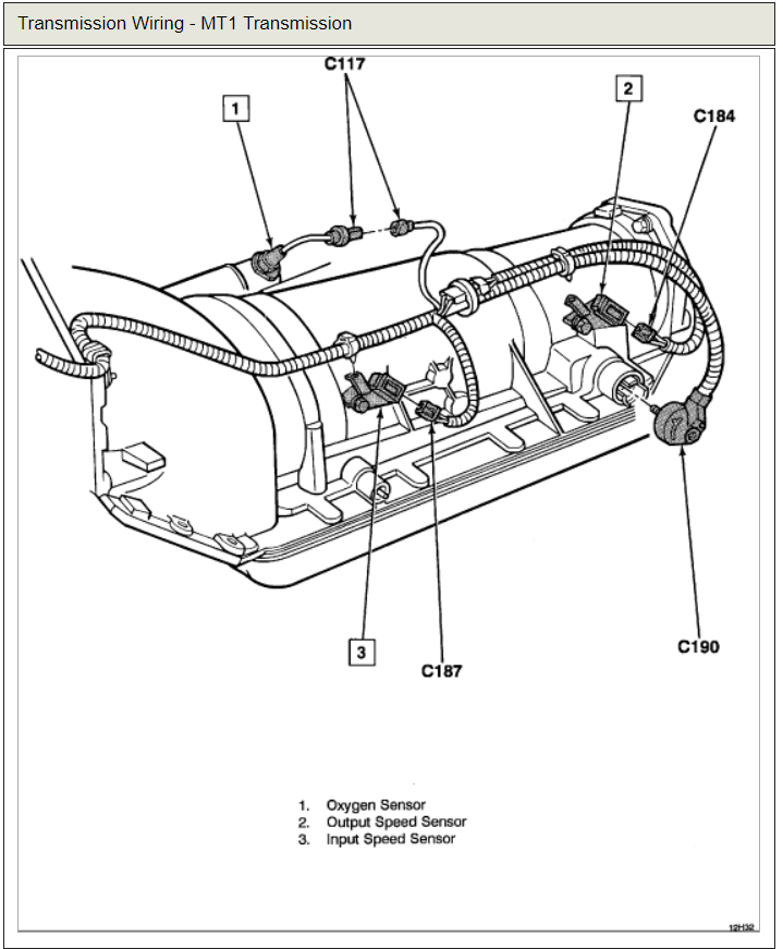1992 Chevy Transmission Wiring