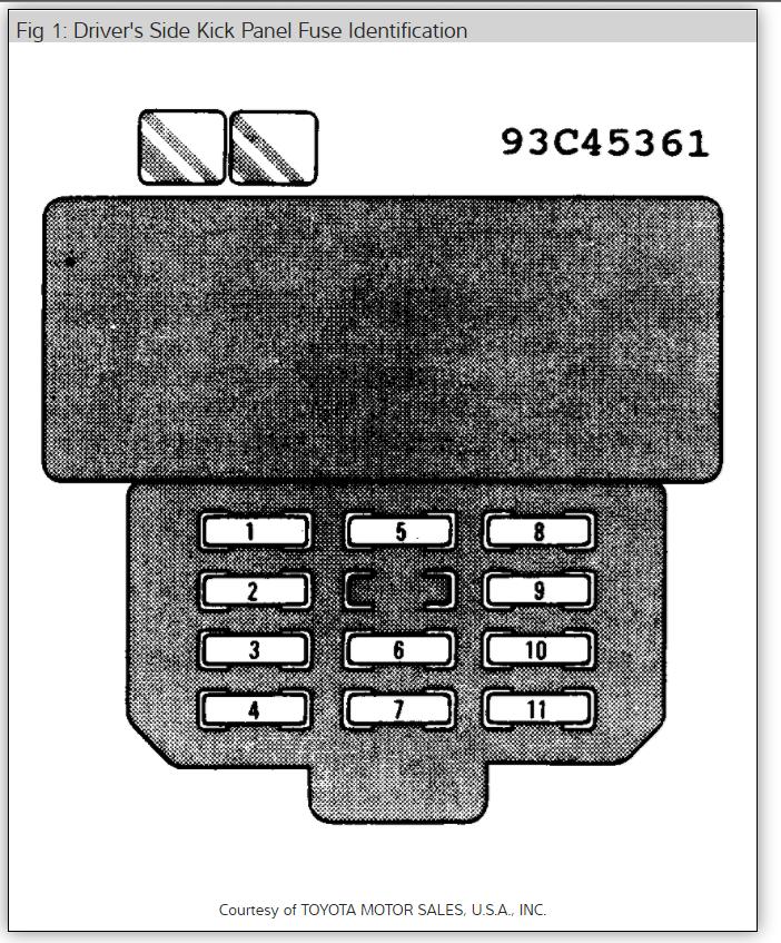 Cigarette Lighter Not Working Electrical Problem 1995 Lexus Gs Rh2carpros: 95 Lexus Gs300 Fuse Box At Elf-jo.com