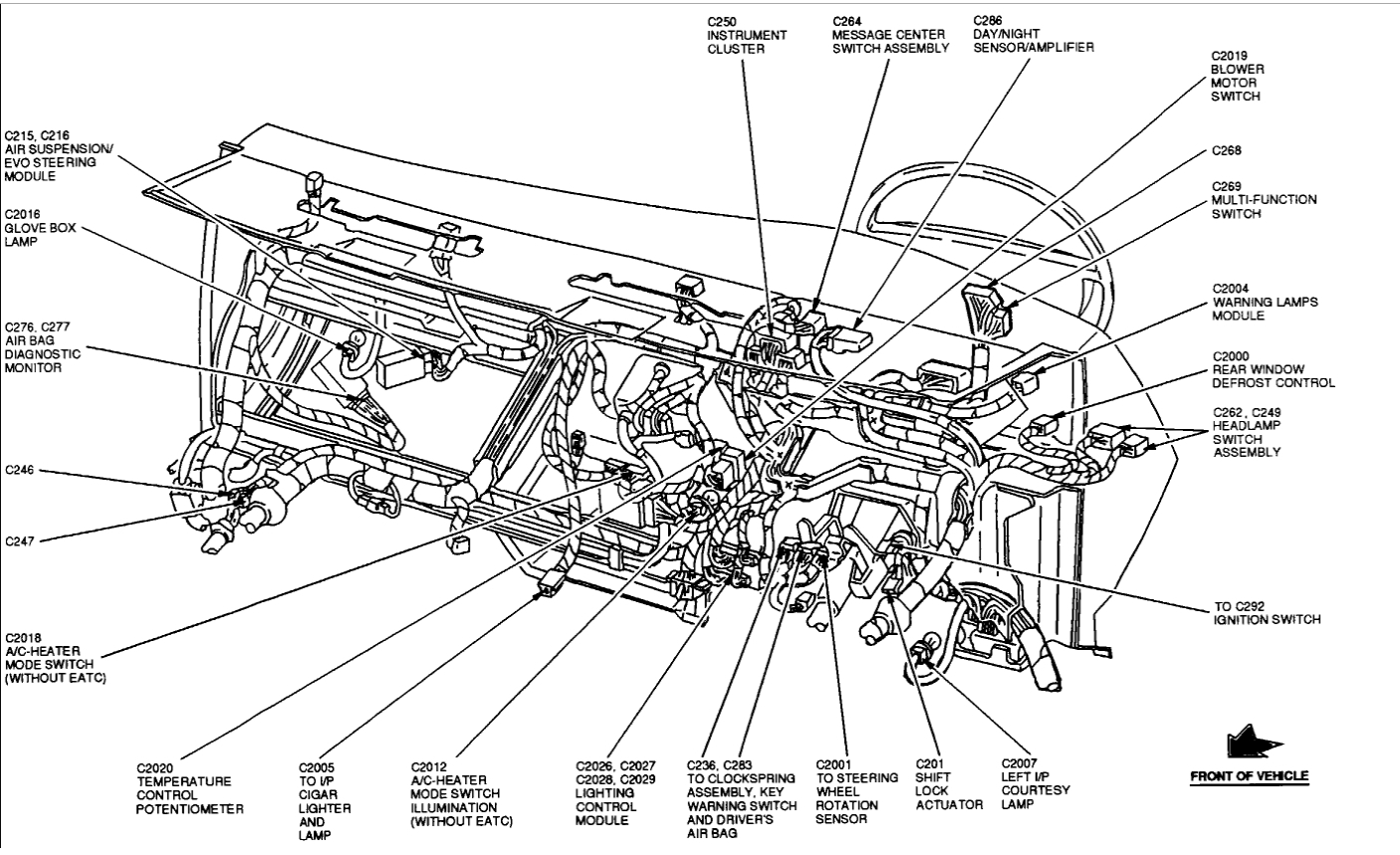 Diagram 1999 Lincoln Town Car On 1991 Lincoln Continental Engine