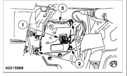 Ford Taurus Where Is Heater Control Valve