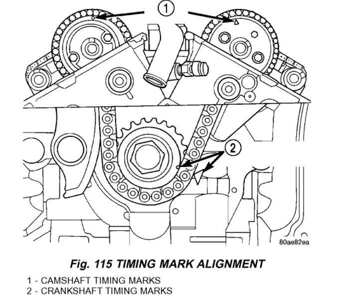 2008 Chrysler 300 Timing Chain Diagram