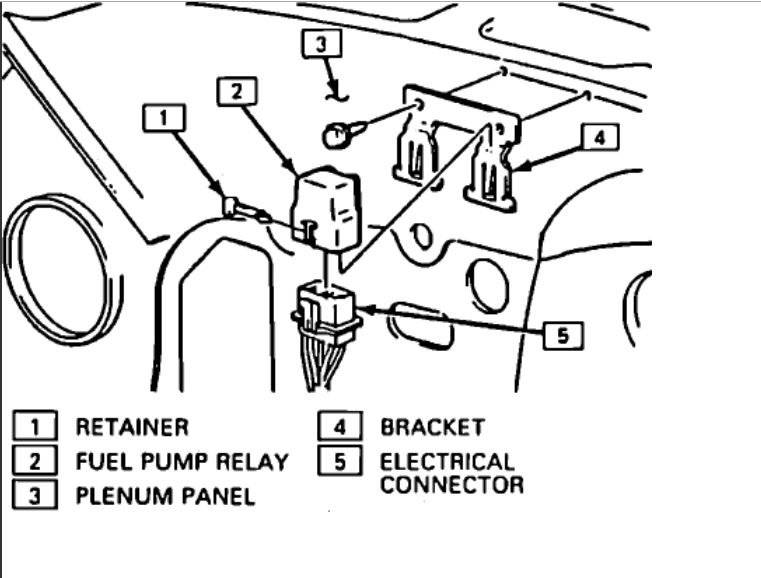 88 Chevy Fuel Pump Relay Wiring Diagram