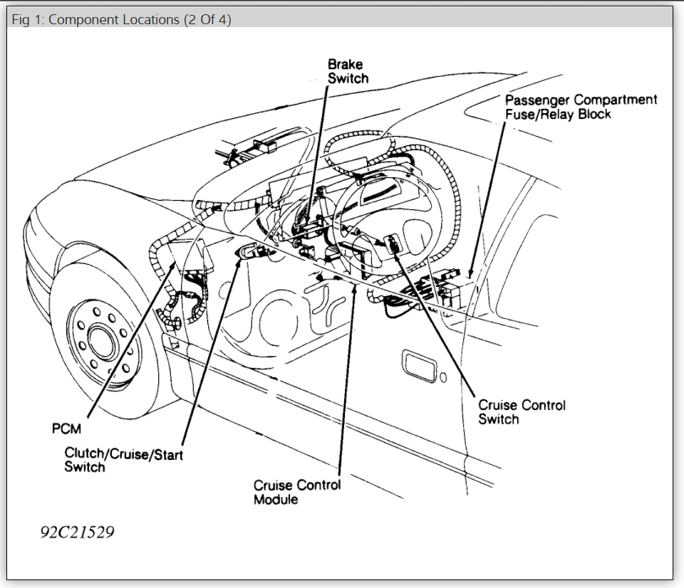 Transmission Stuck In 3rd Gear Problem 1997 Nissan Xe V6 Body Ground Fuse Box Diagram Thumb