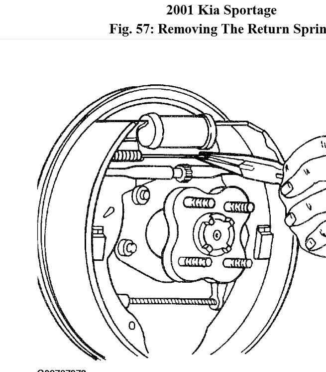 2007 kia rondo serpentine belt diagram