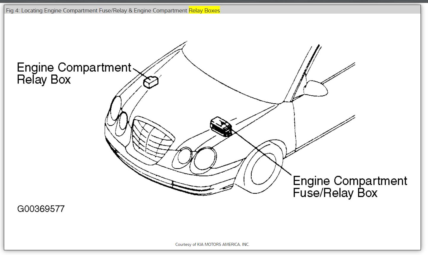 kia amanti engine diagram