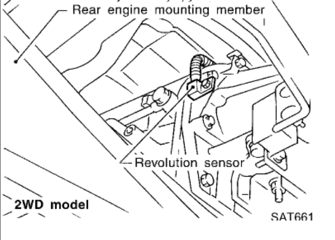 Vehicle Speed Sensor Electrical Problem 6 Cyl Four Wheel