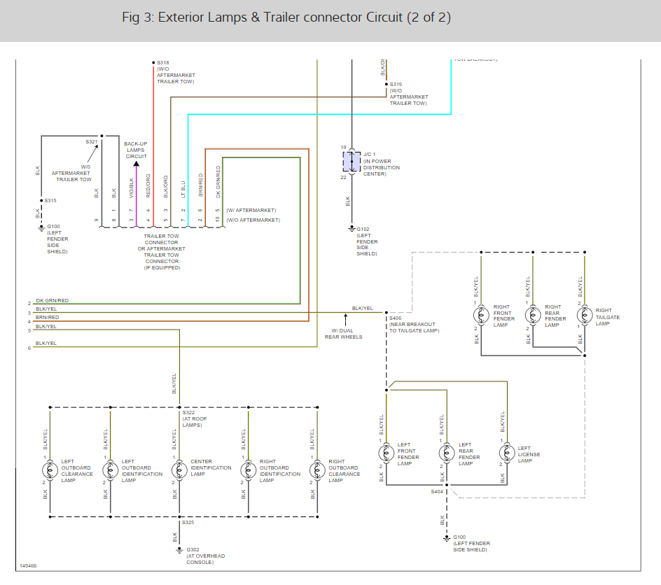 Wiring Diagram: Do You Have the Tail Light Wiring Diagram ...