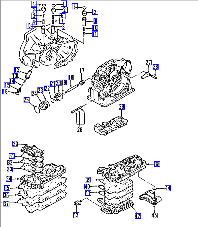 Transmission Not Shift First to Second Gear Properly and Refuse to