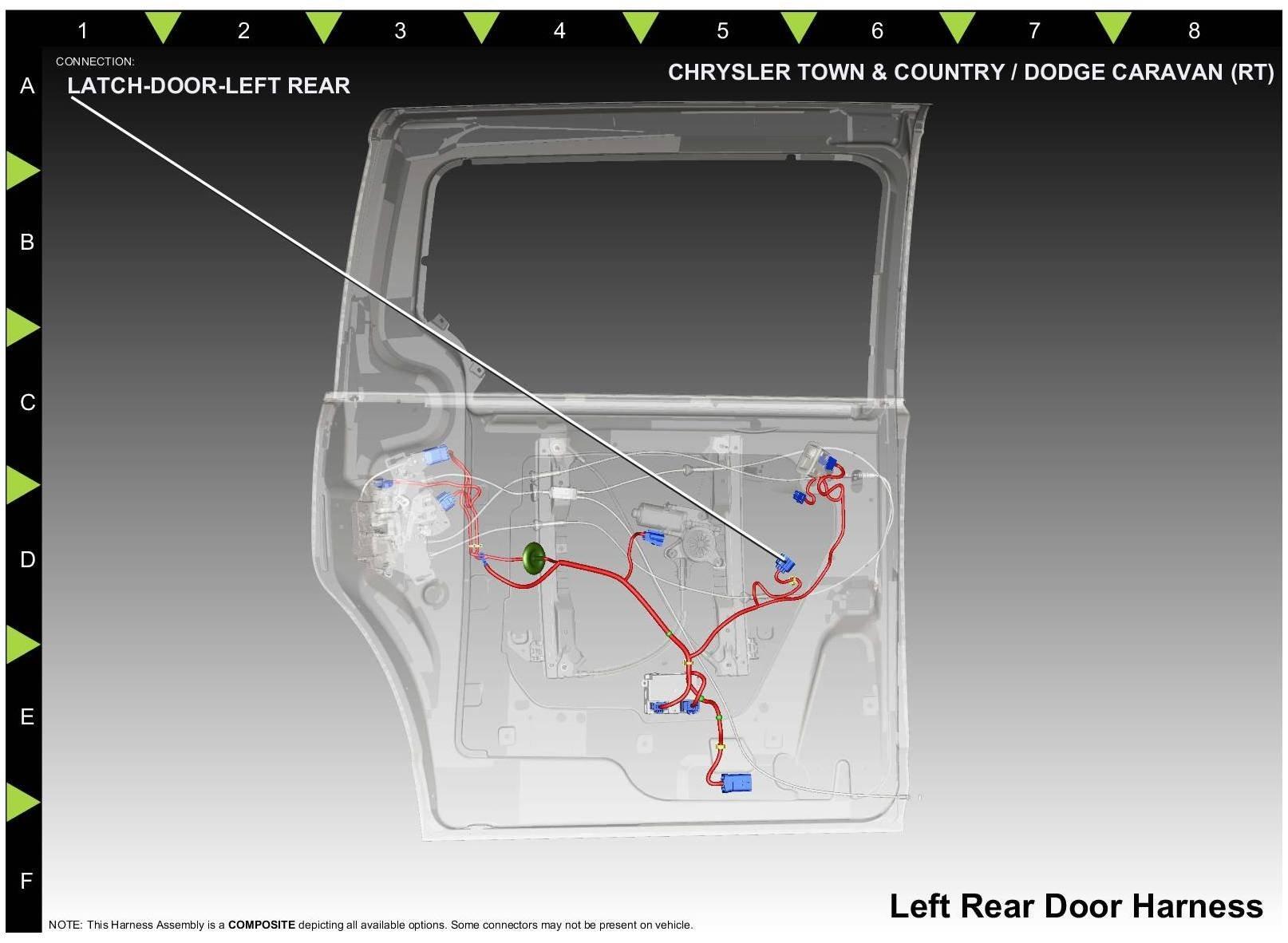 2005 Dodge Grand Caravan Power Sliding Door Wiring Harness from www.2carpros.com