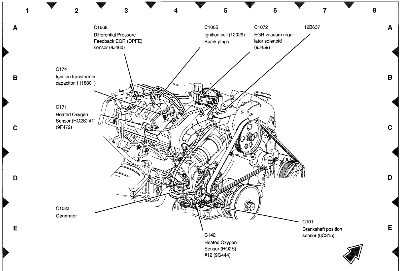 o2 sensor wiring diagram 2001 taurus  fan clutch wiring