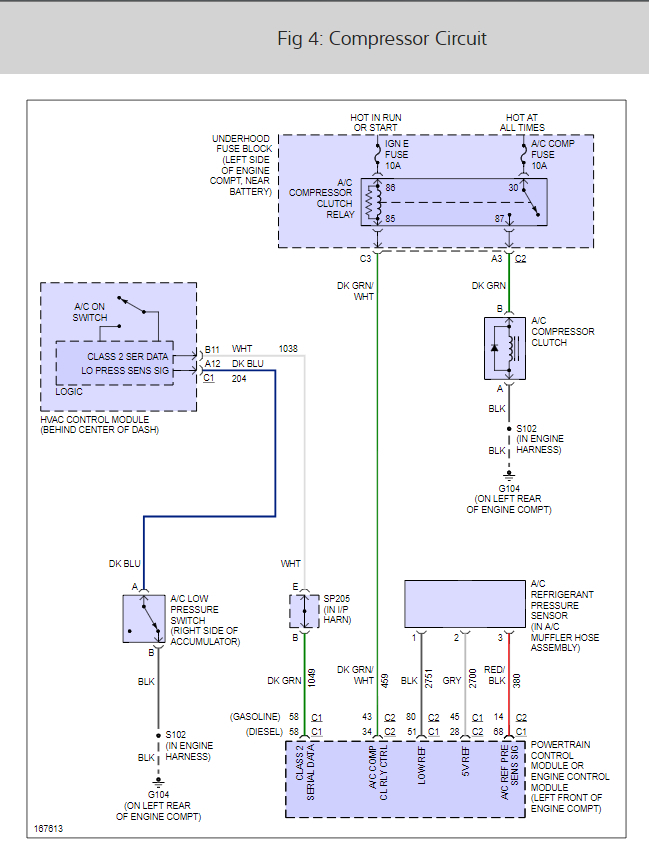 Air Conditioner Wiring Diagrams: Need AC Wiring Diagram for 2003 ...2CarPros
