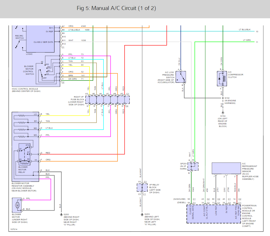 envoy ac heater diagram wiring diagrams  2002 envoy a c compressor wiring diagram #9