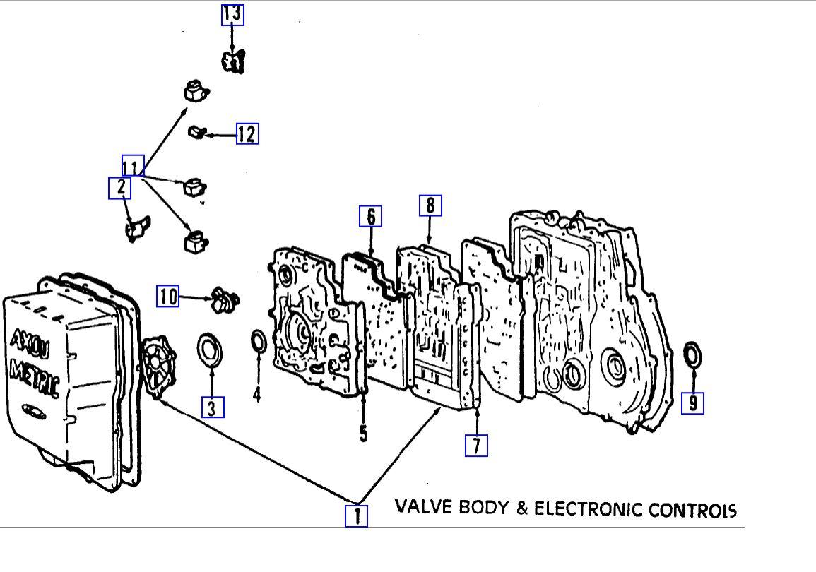 Shift Solenoid Location  Where Is P0755 Shift Solenoid