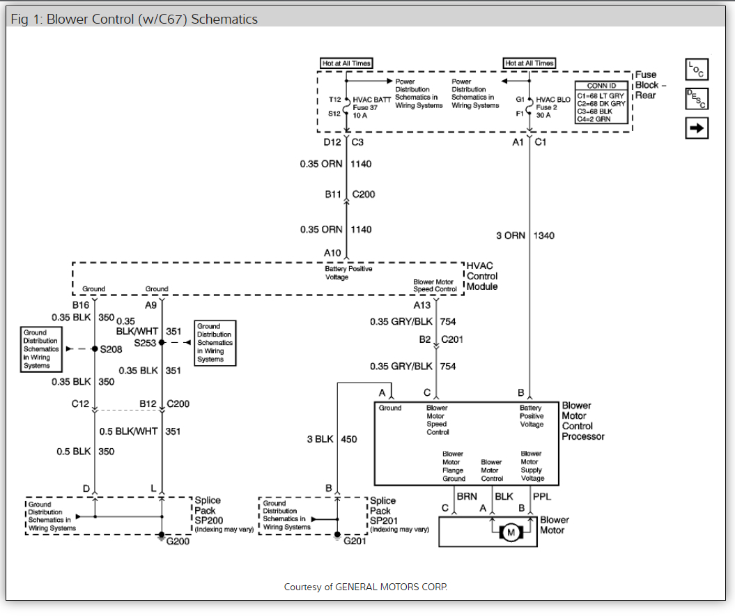 03 Lesabre Hvac Blower Wiring Diagram Radio Fan Stopped Working My In 2004 Buick Rh 2carpros Com Relay For Furnace
