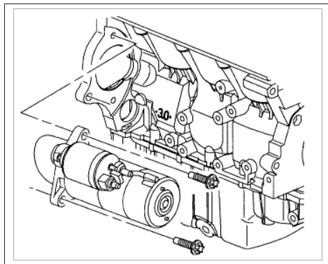 V4 Engine Mustang