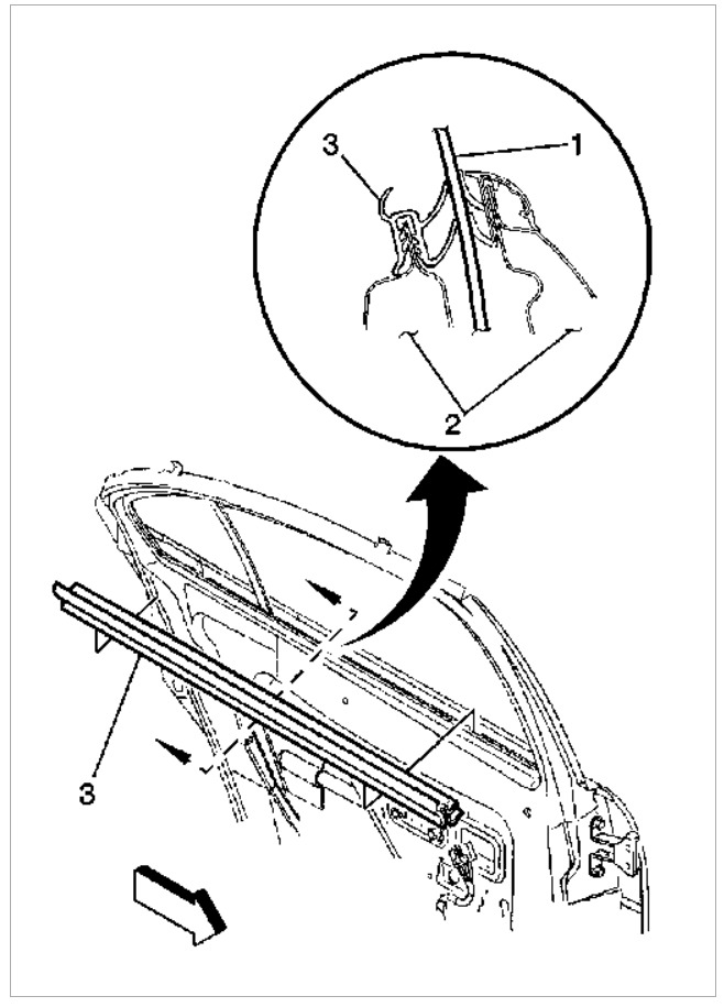 Rear Passenger Side Wing Window Replacement I Want To Replace