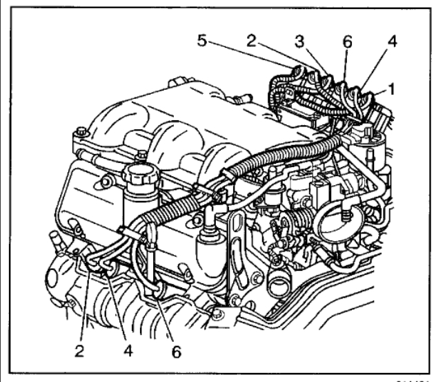trailblazer power window wiring diagram